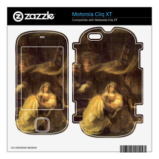 Circumcision of Christ by Rembrandt Motorola Cliq XT Skins