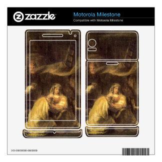Circumcision of Christ by Rembrandt Motorola Milestone Decal