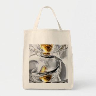 Circumvoluted Abstract Tote Bag