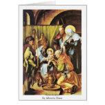 Circuncisión de Albrecht Dürer Tarjeton