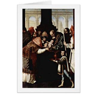 Circuncisión de Zurbaran De Francisco Tarjetón