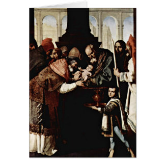 Circuncisión de Zurbaran De Francisco Felicitación