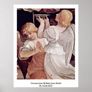 Circuncisión del detalle de Jesús del bebé de Guid Poster