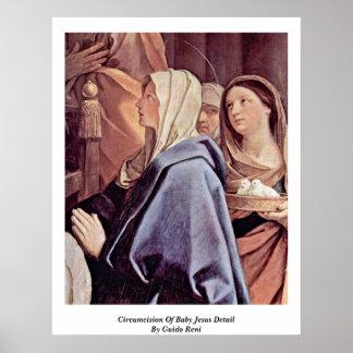 Circuncisión del detalle de Jesús del bebé de Guid Impresiones