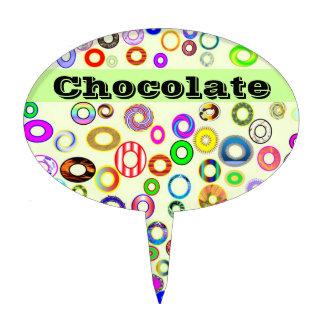 circunda el chocolate decoraciones para tartas
