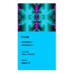 circunda fractal tarjetas de visita