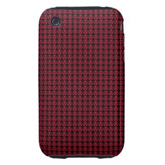 Circunde una caja del teléfono tough iPhone 3 protectores