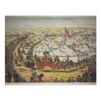Circus, 1874 post card
