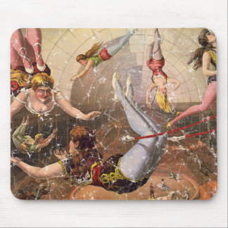 Circus-1890 - distressed mouse pad