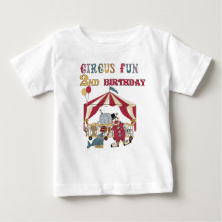 Circus 2nd Birthday Infant T-shirt
