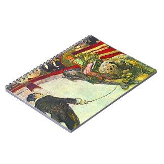 Circus Act 1888 Notebook