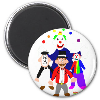 Circus Acts Magnet