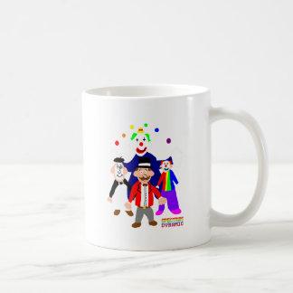 Circus Acts Classic White Coffee Mug