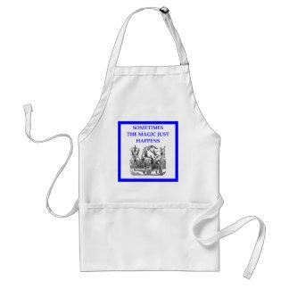 circus adult apron