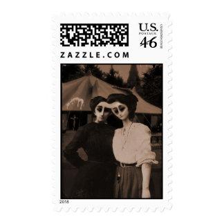 Circus Aliens Stamp Sheet