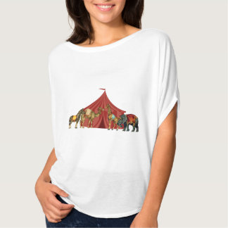 Circus Animals And Tent T Shirt