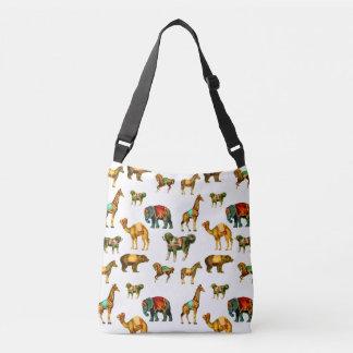 Circus Animals Crossbody Bag
