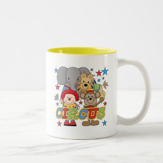 Circus Animals Tshirts and Gifts Two-Tone Coffee Mug