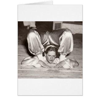 circus art card