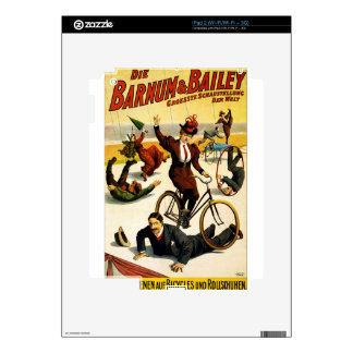 circus art decals for the iPad 2