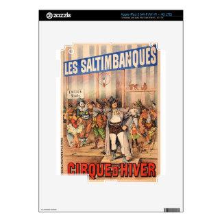 circus art iPad 3 decals