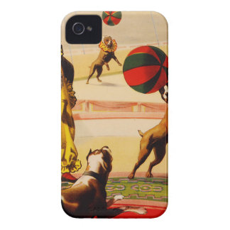 circus art iPhone 4 Case-Mate case