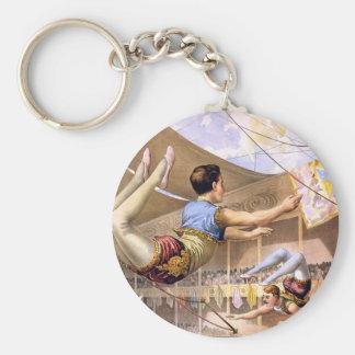 circus art keychain