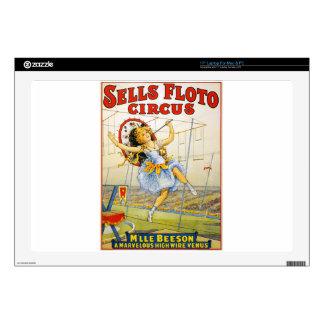 circus art laptop decal