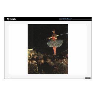 """circus art skin for 17"""" laptop"""