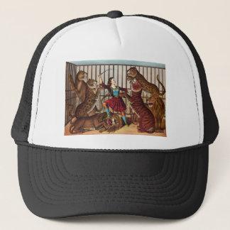 circus art trucker hat
