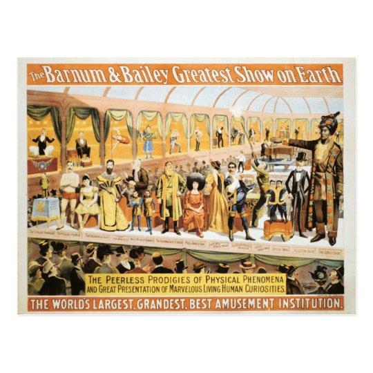 Circus Barnum and Bailey Greatest Show on Earth Postcard