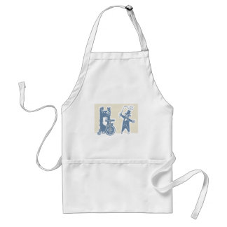 Circus Bear and Ring Master Adult Apron