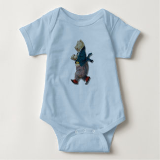 Circus Bear Baby Bodysuit