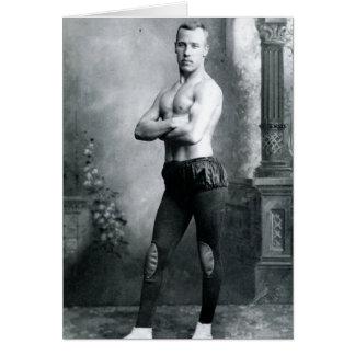 Circus Beefcake 1898 Card