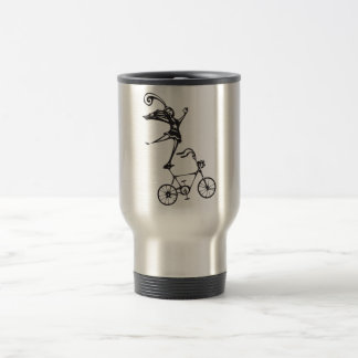 Circus Bicycle Travel Mug