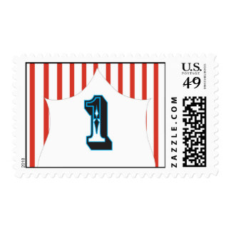 Circus Birthday - 1 Stamps