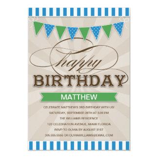 CIRCUS BIRTHDAY | CHILDREN'S BIRTHDAY INVITATIONS
