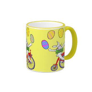 Circus Bunny Ringer Mug