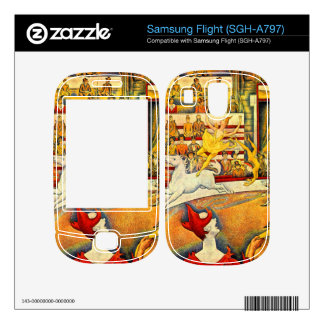 Circus by Georges Seurat Skin For Samsung Flight