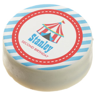 Circus Carnival Birthday Baby Shower Chocolate Covered Oreo