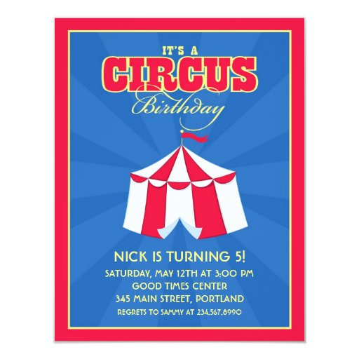 Carnival Birthday Invitations with best invitation example