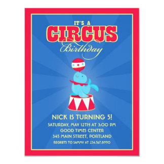Circus / Carnival Birthday Party Invitation
