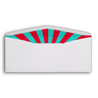 Circus, Carnival party Envelope