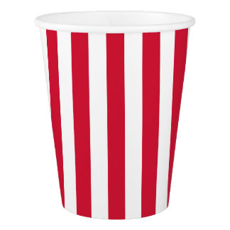 Circus Carnival Stripes Birthday Party Cups