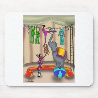 Circus Cartoon 9376 Mouse Pad