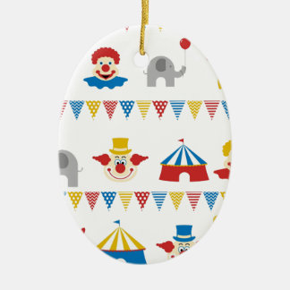Circus Ceramic Ornament