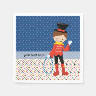 Circus * choose background color napkin