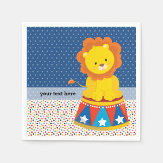 Circus * choose background color paper napkin