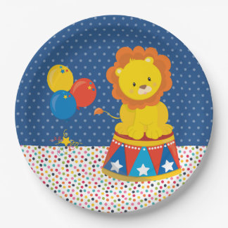 Circus * choose background color paper plate