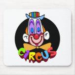 Circus Circus Clown Mousepads